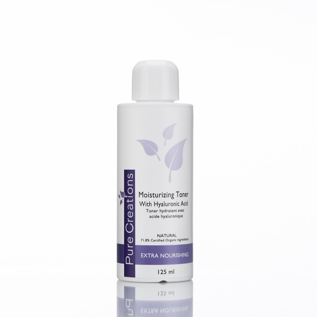 Moisturizing toner with Hyaluronic Acid