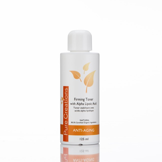 Firming toner with Alpha Lipoic Acid